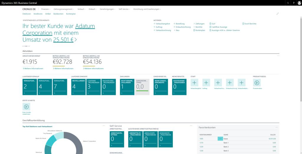 Microsoft veröffentlicht Dynamics 365 Business Central